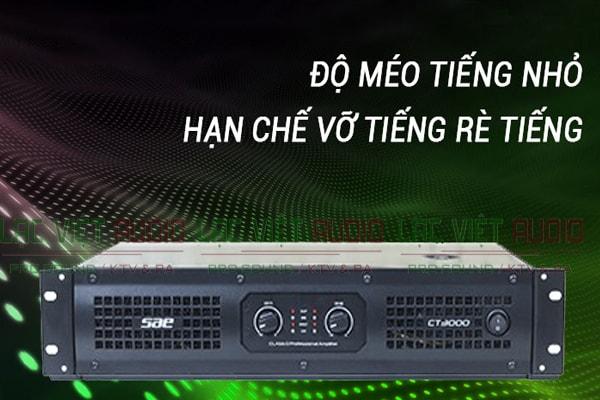 Cục đẩy công suất SAE CT3000 đảm bảo chất lượng âm thanh