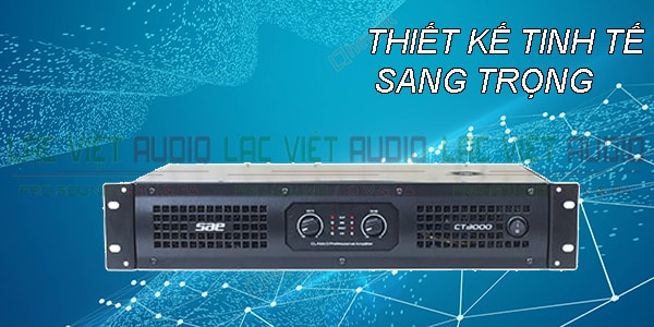 Cục đẩy công suất SAE CT3000 thiết kế đẹp