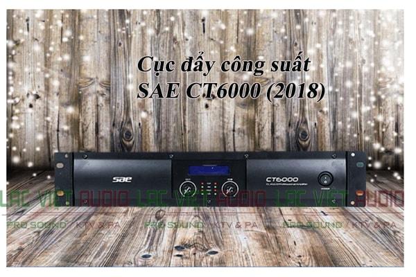 Cục đẩy công suất SAE CT6000 (2018) chính hãng