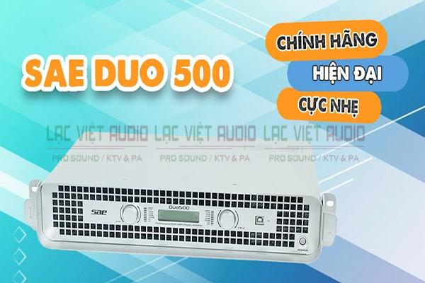 Cục đẩy công suất SAE Duo 500 chính hãng