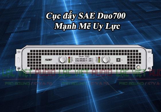 Cục đẩy công suất SAE Duo 700 mạnh mẽ đầy uy lực