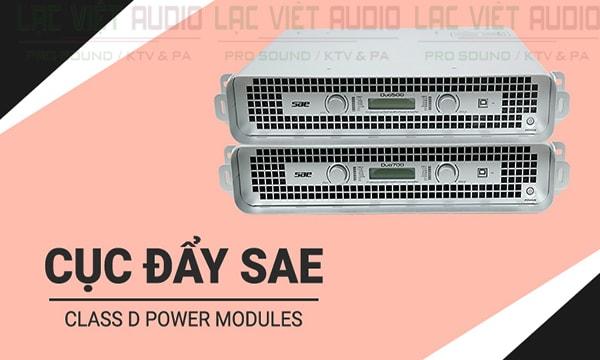 Cục đẩy công suất SAE Duo 700 hoạt động ổn định