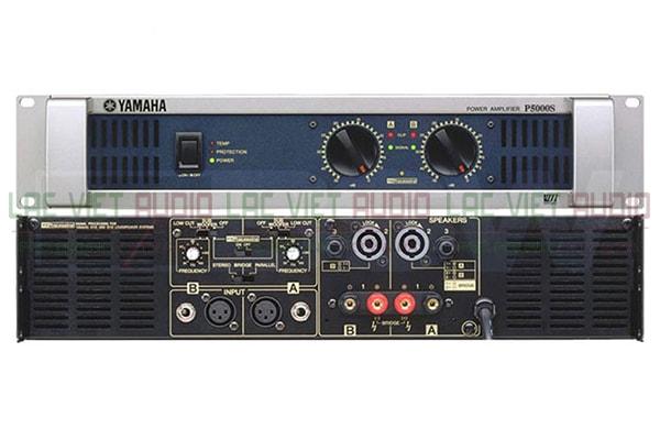 Cục đẩy công suất Yamaha P5000S mặt trước và sau