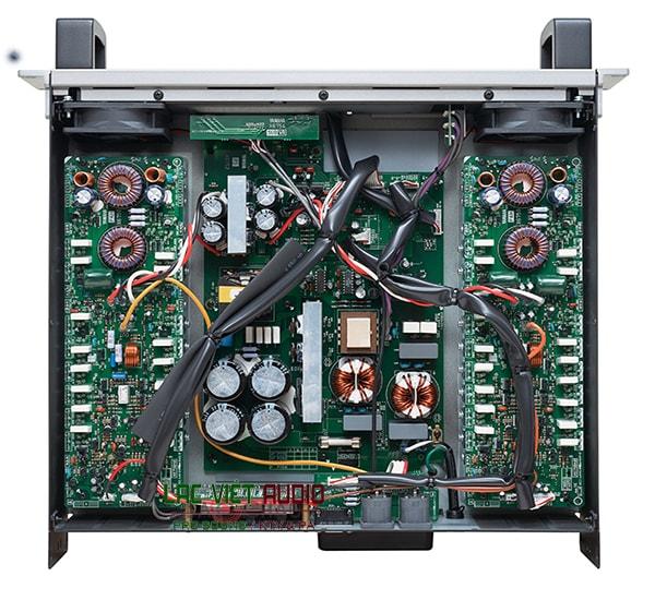Cục đẩy công suất Yamaha XP5000 cấu tạo