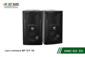 Giới thiệu về sản phẩm Loa BF CT15