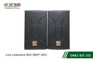 Giới thiệu về sản phẩm Loa BIK BSP 810