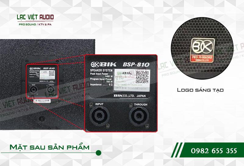Thiết kế của sản phẩm Loa BIK BSP 810