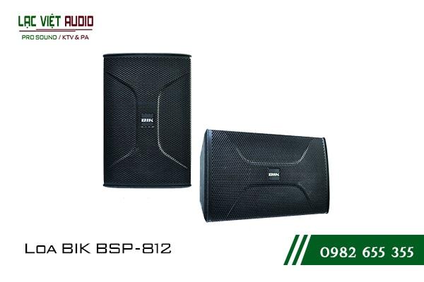 Giới thiệu về sản phẩm Loa BIK BSP 812