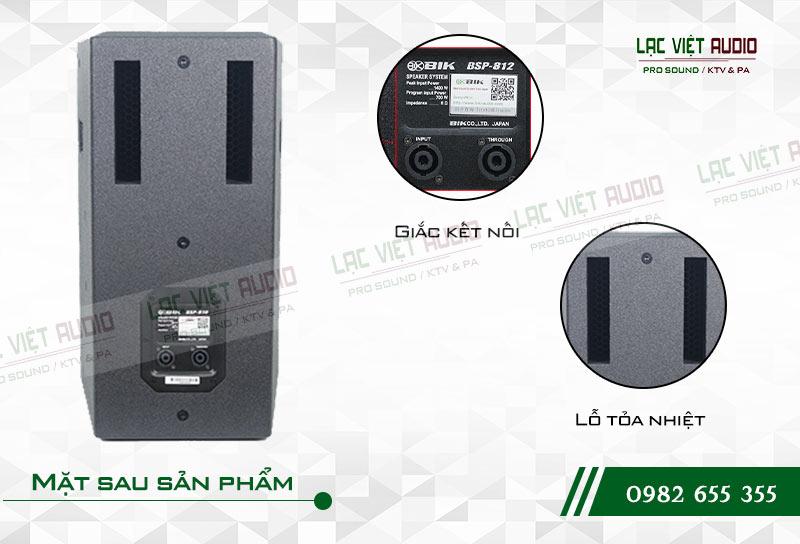 Thiết kế của sản phẩm Loa BIK BSP 812