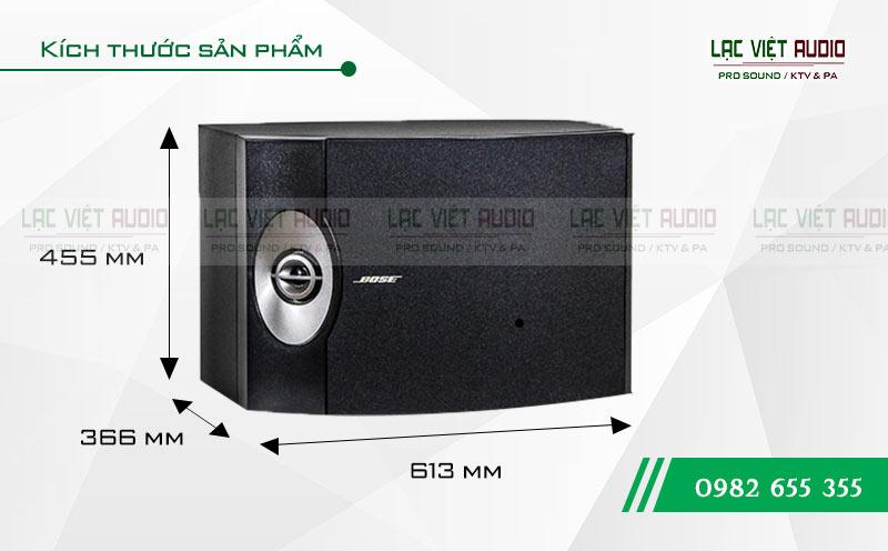 Thiết kế của sản phẩm Loa Bose 301 seri V