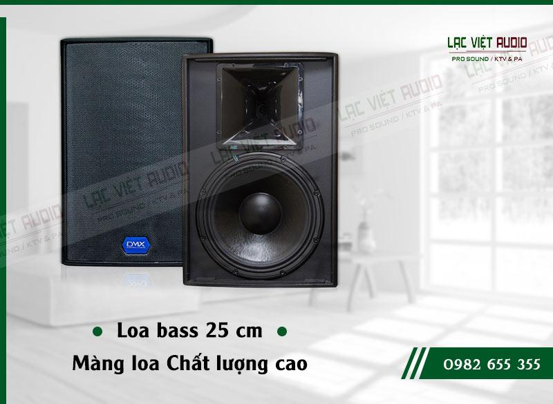 Tính năng của sản phẩm Loa DMX ES10