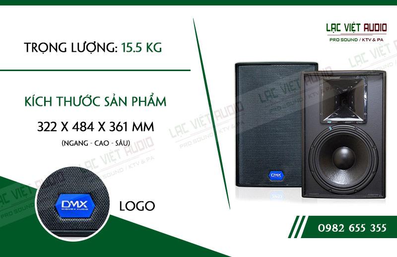 Thiết kế của sản phẩm Loa DMX ES10