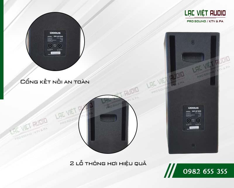Giới thiệu về sản phẩm Loa Domus DP 6100