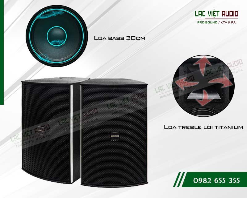Thiết kế của sản phẩm Loa Domus DP 8120