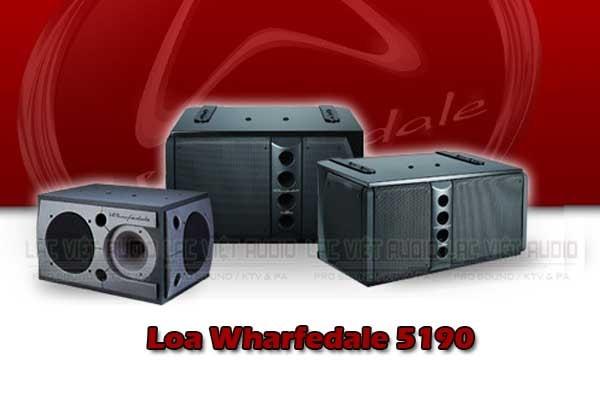 Tính năng Loa karaoke wharfedale 5190