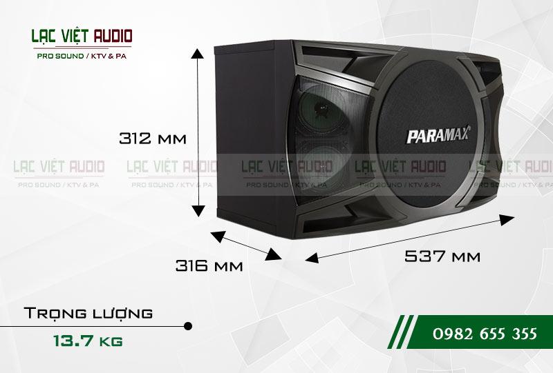 Giới thiệu sản phẩm Loa Paramax P1000 New 2018
