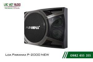 Giới thiệu về sản phẩm Loa Paramax P2000 New 2018