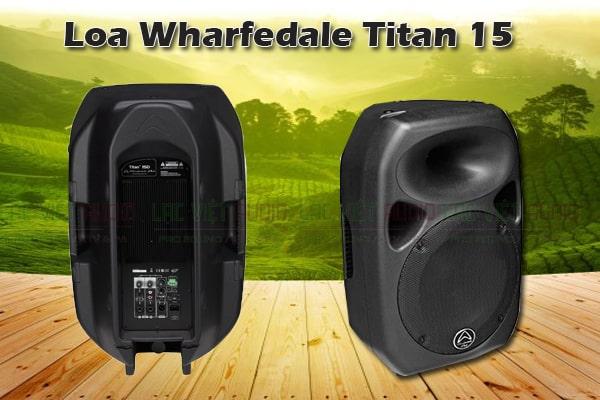 Thiết kế của Loa Wharfedale Titan 15