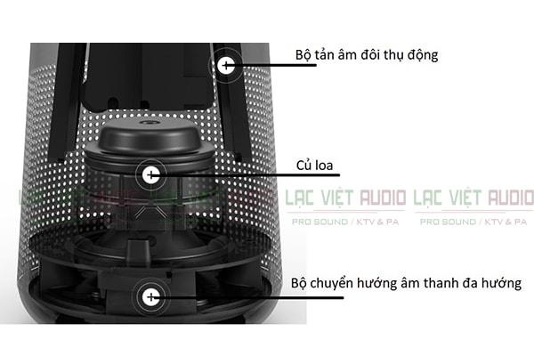 Cấu tạo bên trong của Loa di động Bose SoundLink Revolve - Lạc Việt Audio