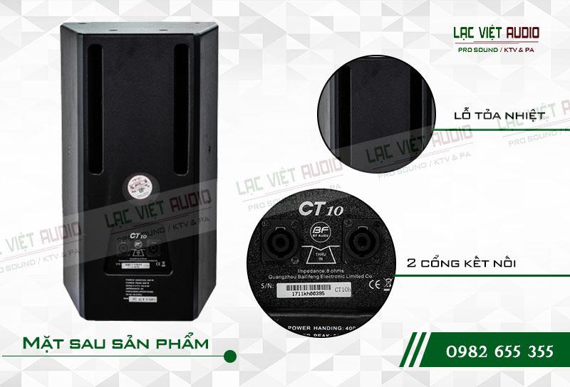 Thiết kế của sản phẩm Loa BF CT10