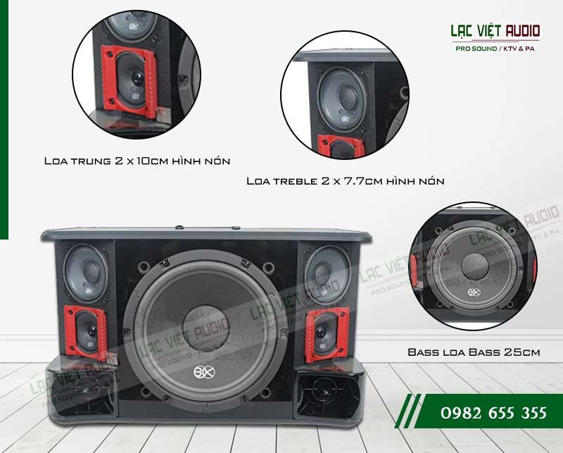Tính năng của sản phẩm Loa BIK BJ S1010