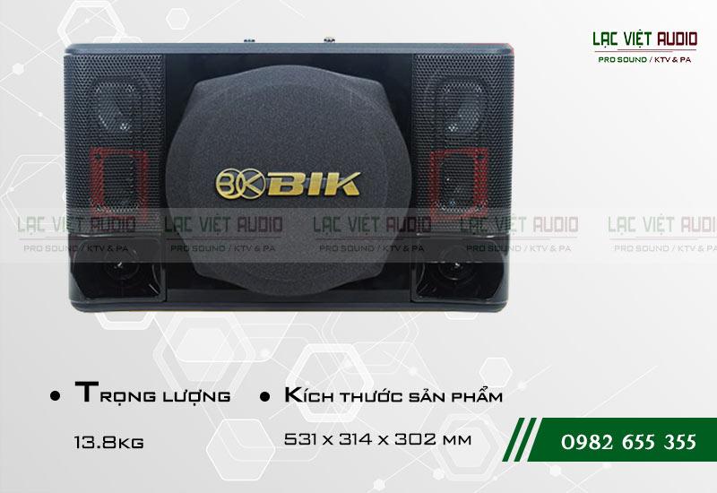 Thiết kế của sản phẩm Loa BIK BJ S1010