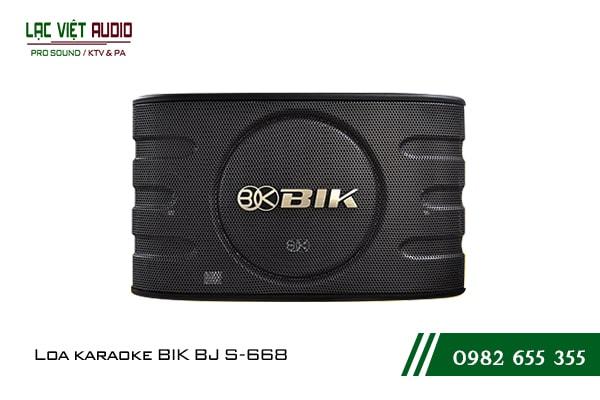 Giới thiệu về sản phẩm Loa BIK BJ S668