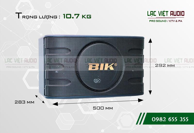 Thiết kế của sản phẩm Loa BIK BJ S668
