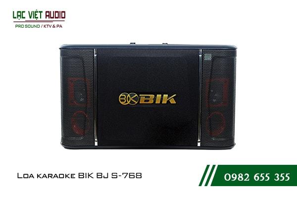 Giới thiệu sản phẩm Loa BIK BJ S768