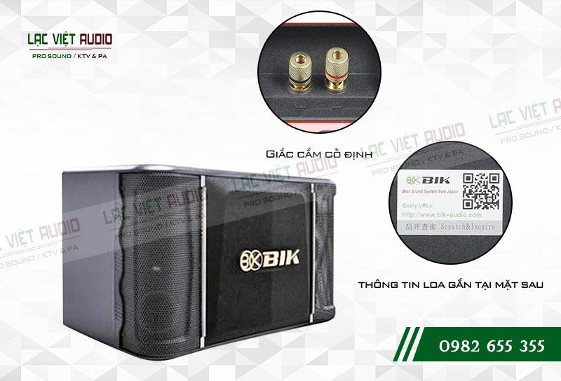 Tính năng của sản phẩm Loa BIK BJ S768