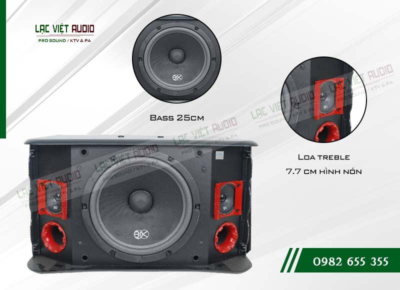 Thiết kế của sản phẩm Loa BIK BJ S768