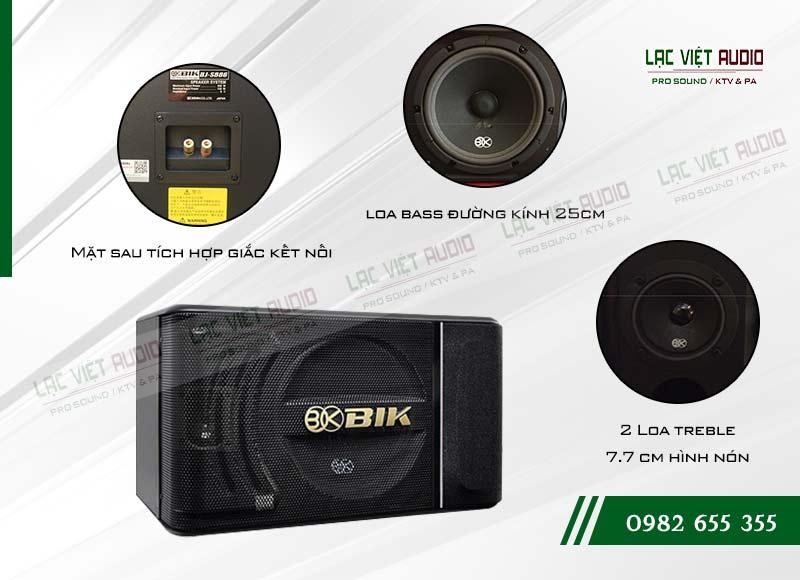 Tính năng của sản phẩm Loa BIK BJ S886