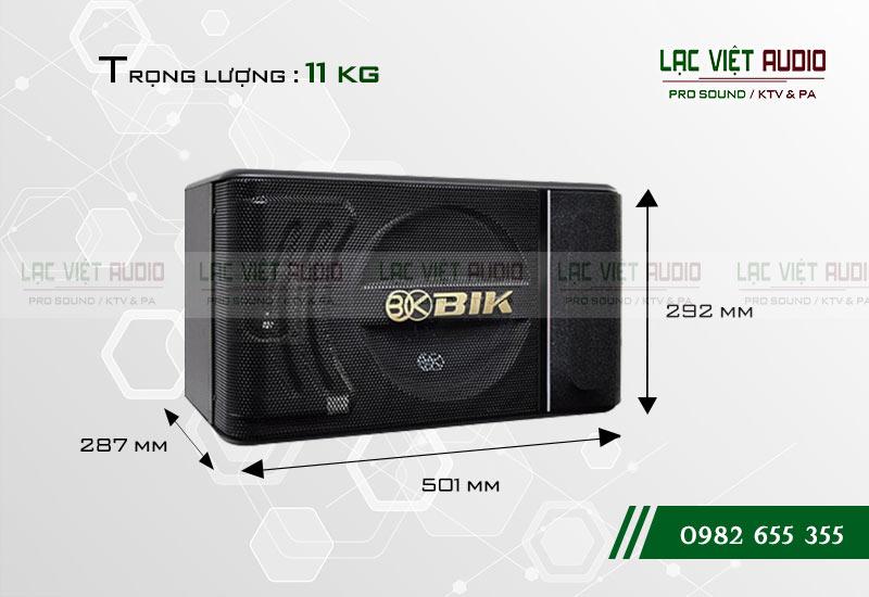 Thiết kế của sản phẩm Loa BIK BJ S886