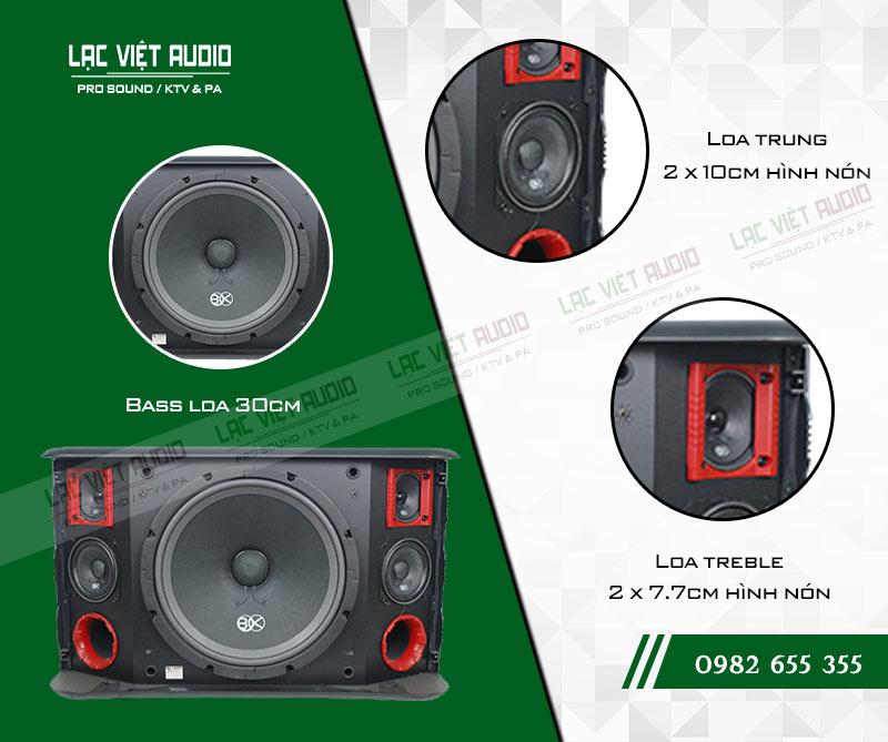 Các đặc điểm nổi bật của Loa BIK BJ S968 (bass 30cm)