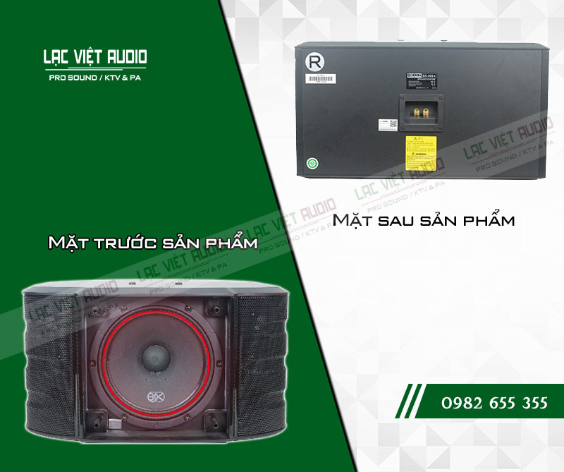 Tính năng của sản phẩm Loa BIK BS 998X