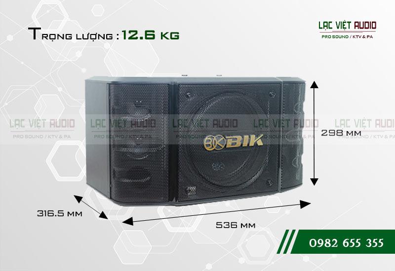 Thiết kế của sản phẩm Loa BIK BS 998X
