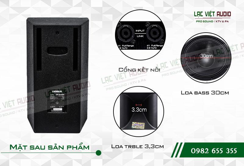 Tính năng của sản phẩm Loa Domus DP 6120