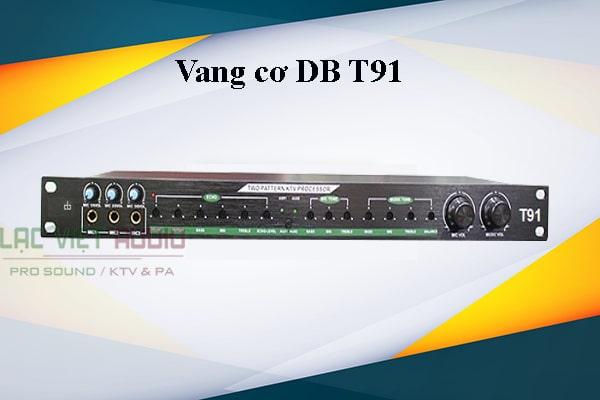 Thiết bị xử lý vang DB T91 thiết kế đẹp mắt