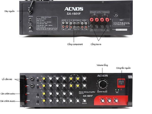 Amply karaoke Acnos