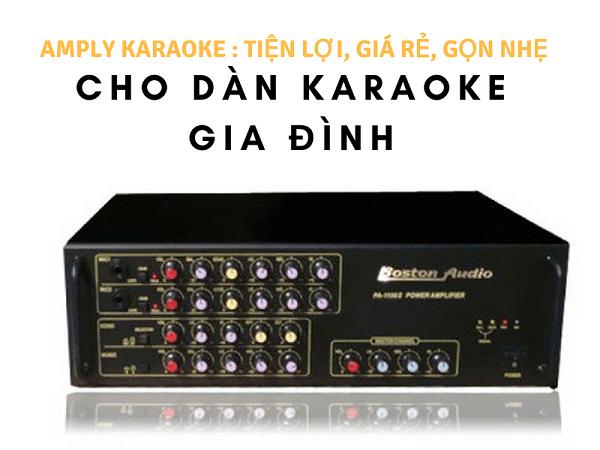 Amply Karaoke gia đình giá rẻ