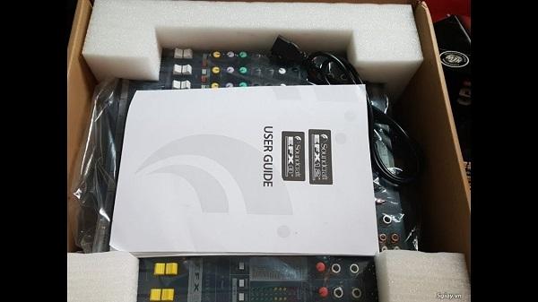 Nguyên bộ bàn mixer SoundCraft