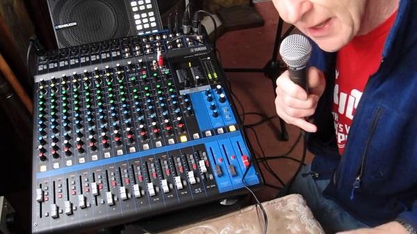 Chỉnh bàn mixer Karaoke chuyên nghiệp