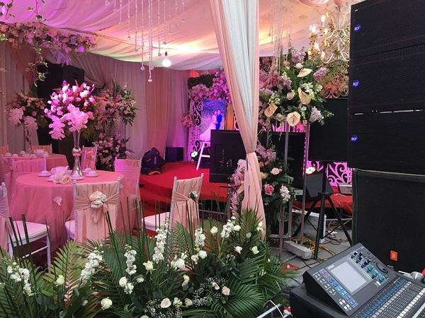 Bộ dàn loa đám cưới