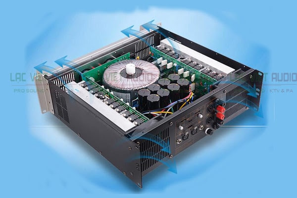 Cục đẩy công suất Yamaha P5000S cấu tạo
