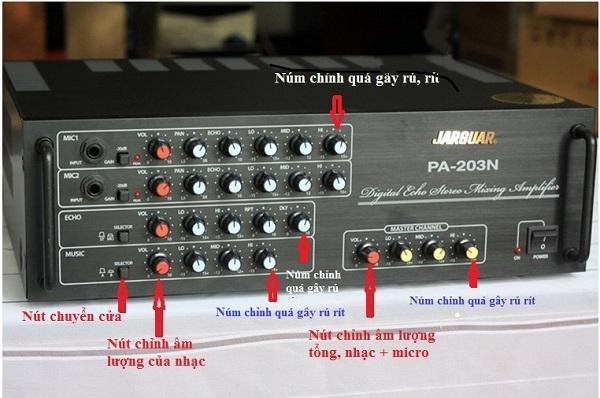 Chỉnh hệ thống amply để hát Karaoke hay nhất