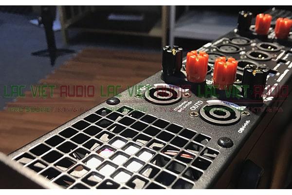 Cục đẩy công suất Star Sound CH 480M mặt sau