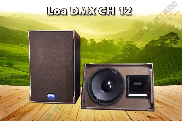 Thiết kế Loa DMX CH12 - Lạc Việt Audio