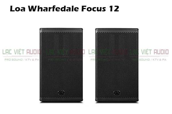 Thiết kế Loa Wharfedale Focus 12