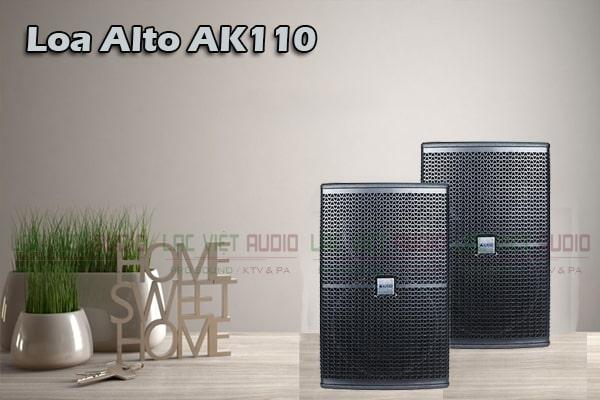 Tính năng Loa Alto AK110- Lạc Việt Audio