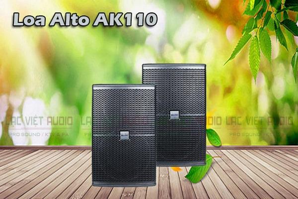 Thiết kế Loa Alto AK110- Lạc Việt Audio